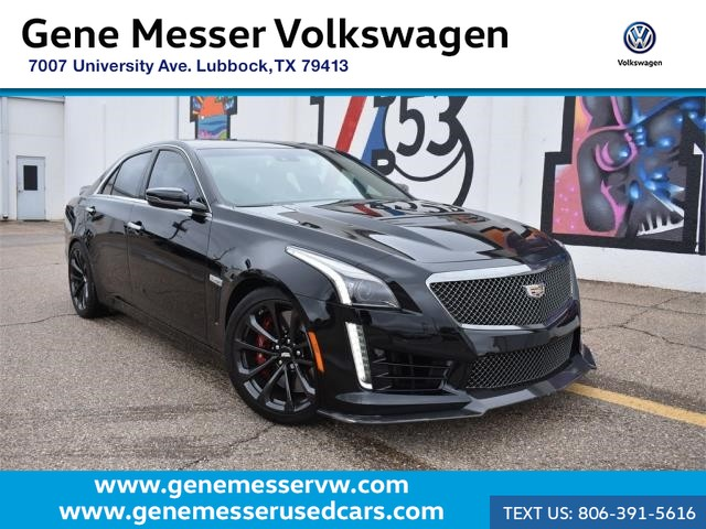 Pre Owned 2017 Cadillac Cts V Sedan Player Package