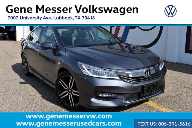 Pre-Owned 2017 Honda Accord Sedan Touring | Clean Carfax | Local Trade