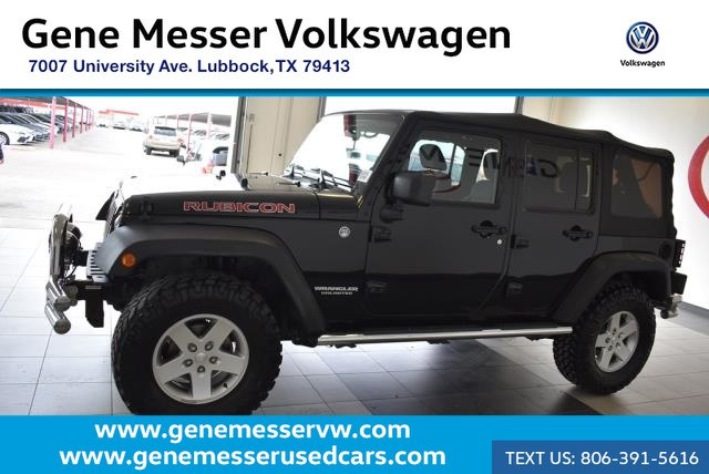 Pre-Owned 2011 Jeep Wrangler Unlimited Rubicon | 4WD | Clean Carfax