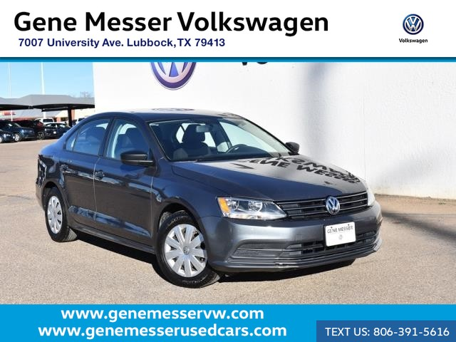 Pre-Owned 2015 Volkswagen Jetta Sedan 2.0L S