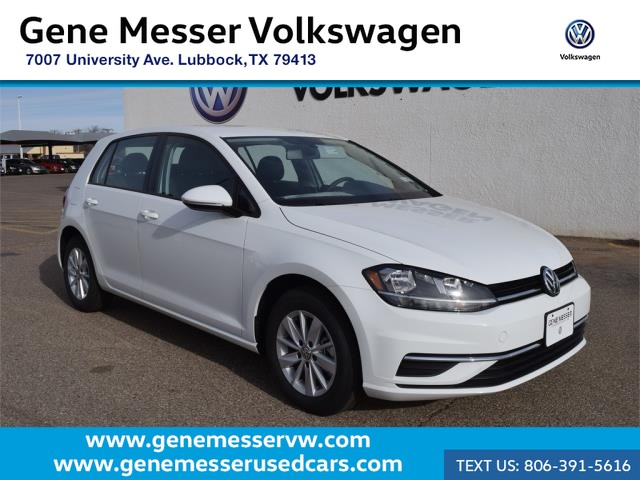 New 2018 Volkswagen Golf TSI S Hatchback in Lubbock #JM253399 | Gene