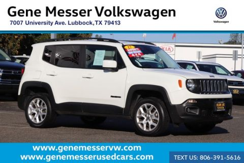 Pre-Owned 2017 Jeep Renegade Latitude | 4WD | Automatic | Reverse Camera